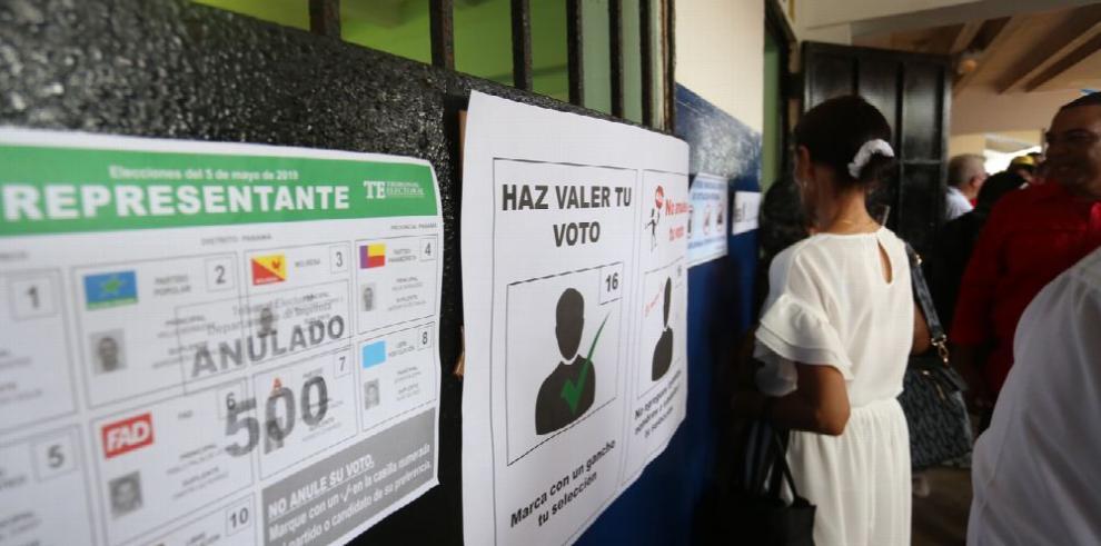 Elecciones presidenciales con un final de fotografía