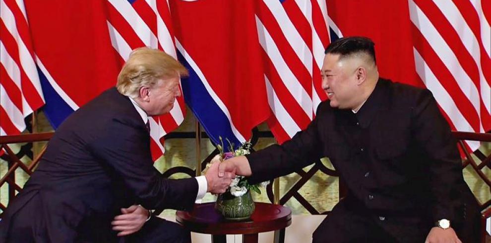 Trump y Kim comienzan con optimismo su segunda cumbre en Hanói