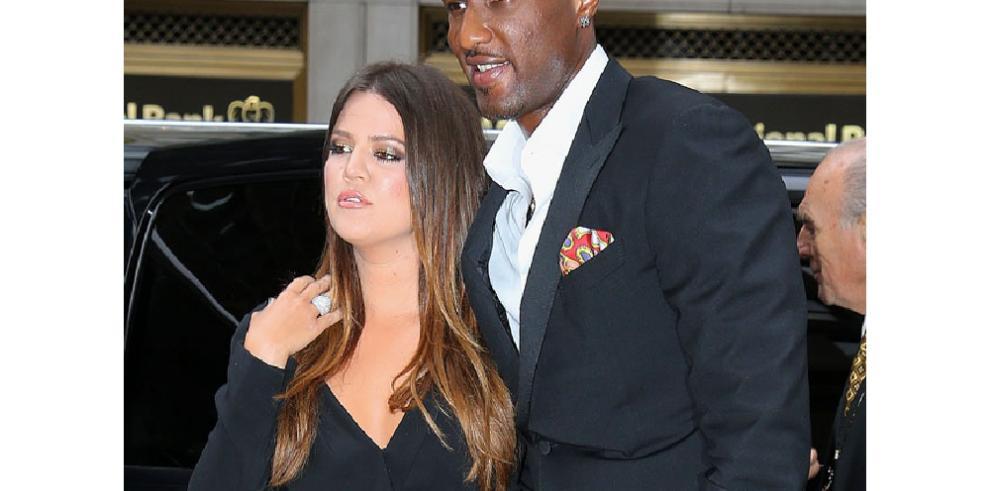 Khloé Kardashian solo desea 'lo mejor' a su exmarido Lamar Odom