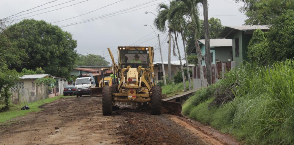 Rehabilitación de calles del distrito de Panamá avanza a buen ritmo, segun MOP