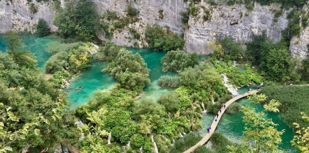 Plitvice, uno de los primeros parques de Croacia