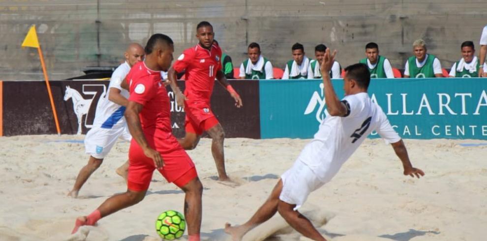 Panamá se impuso ante Guatemala y avanza a la semifinal del Premundial de Fútbol Playa