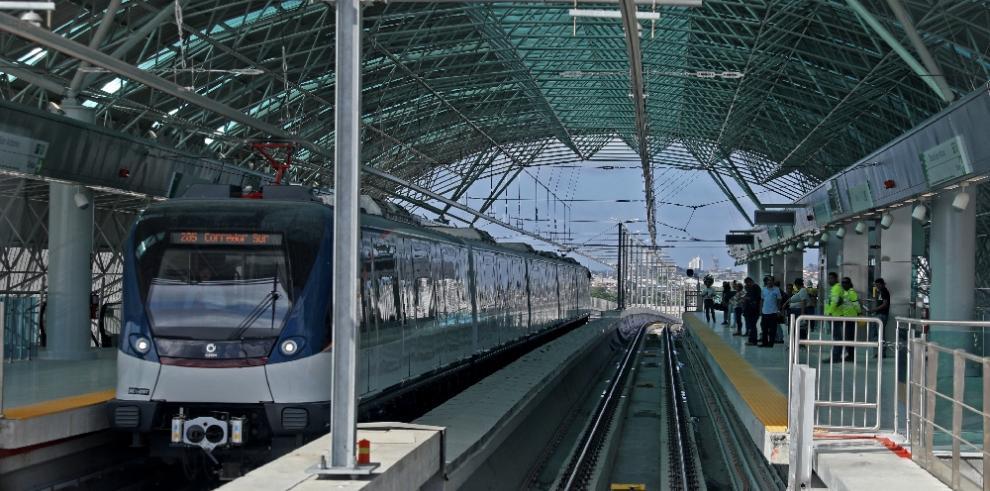 Línea 2 del Metro de Panamá operará desde el 25 de abril a las 6:00 p.m.