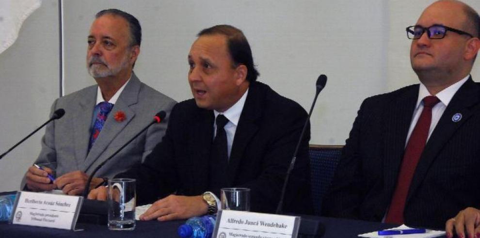 Magistrados Valdés y Juncá habilitados para actuar en caso Martinelli