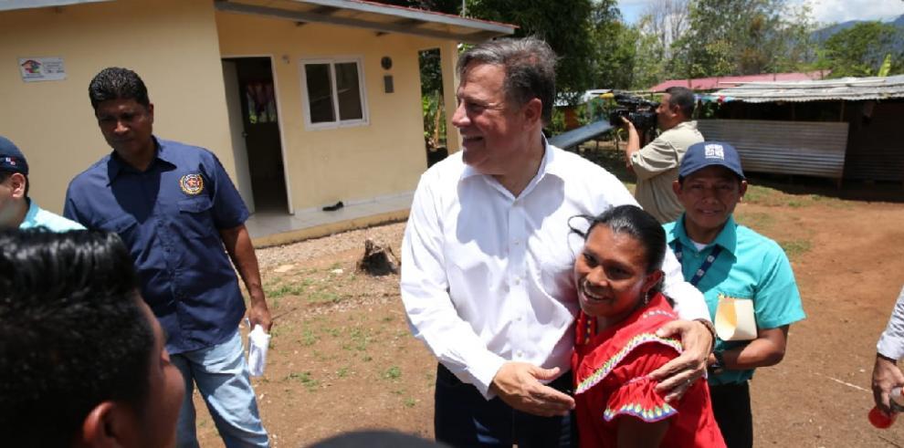 Chiriquí recibe dos proyectos de acueductos de Varela