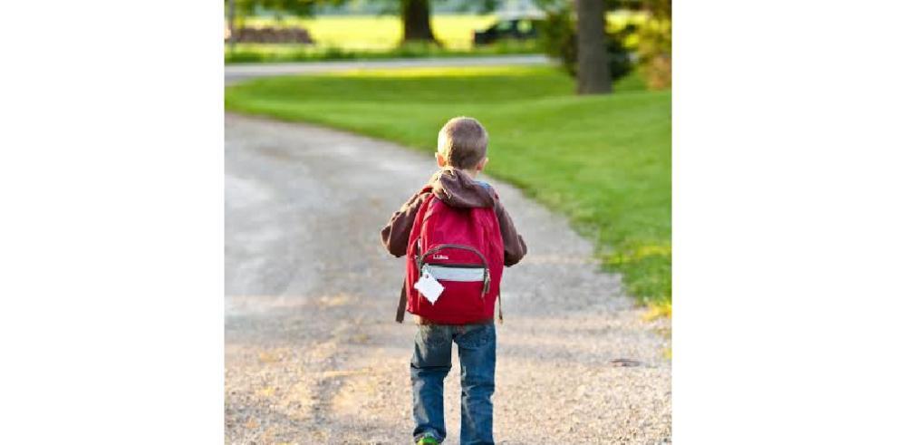 La mochila escolar del niño no debe exceder del 10% de su peso corporal