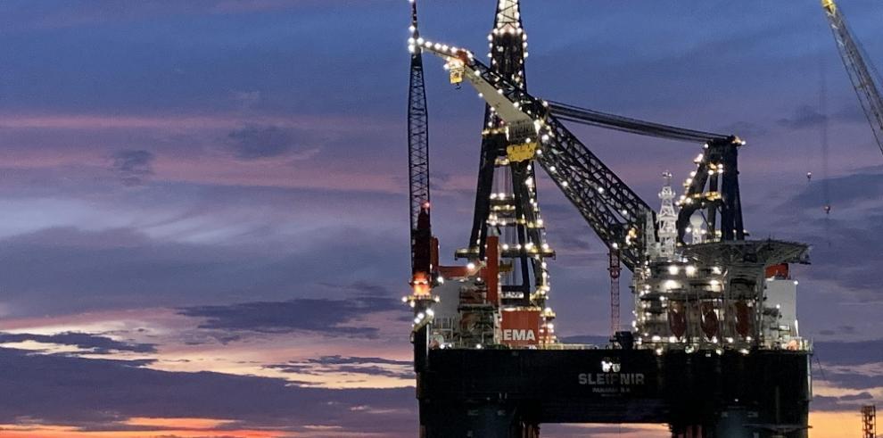 Registran en Panamá a Sleipnir, el buque grúa semisumergible más grande del mundo