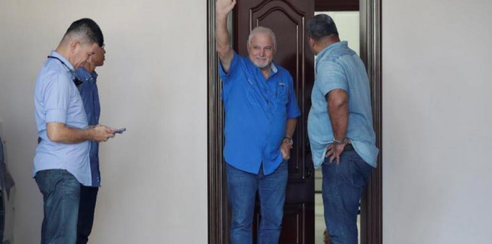 Martinelli se mantendrá detenido en su residencia