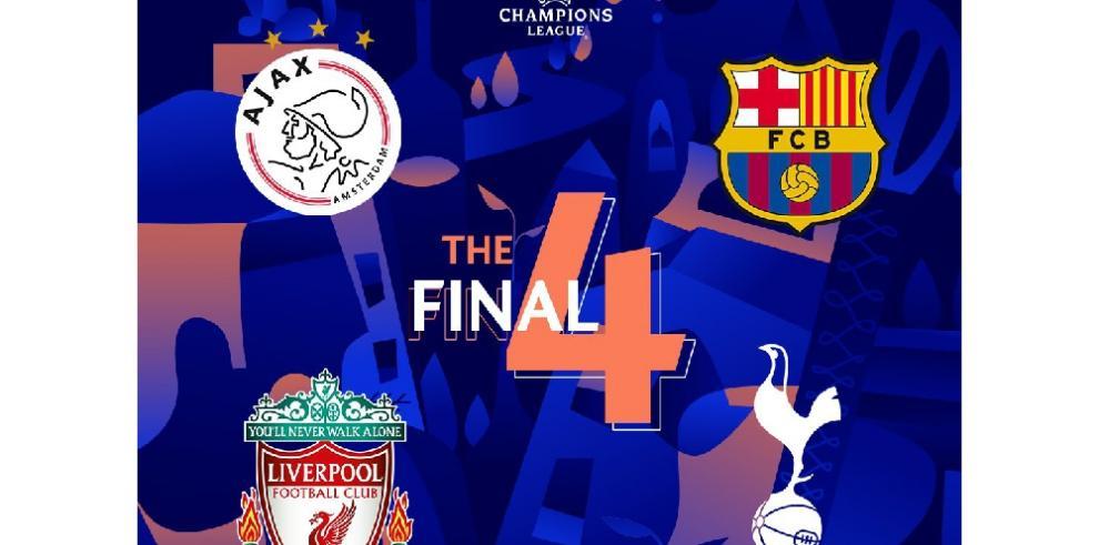Barcelona-Liverpool y Tottenham-Ajax, cruces de semifinales