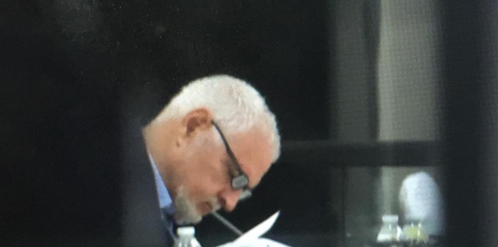 Martinelli pretendía que los medios de comunicación no transmitiera su audiencia