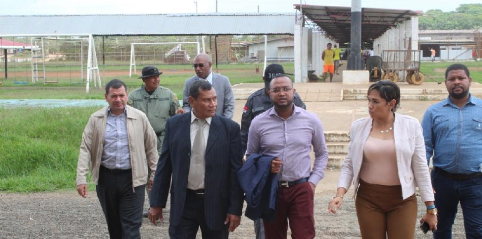 Autoridades del Sistema Penitenciario realizan recorrido en La Joya