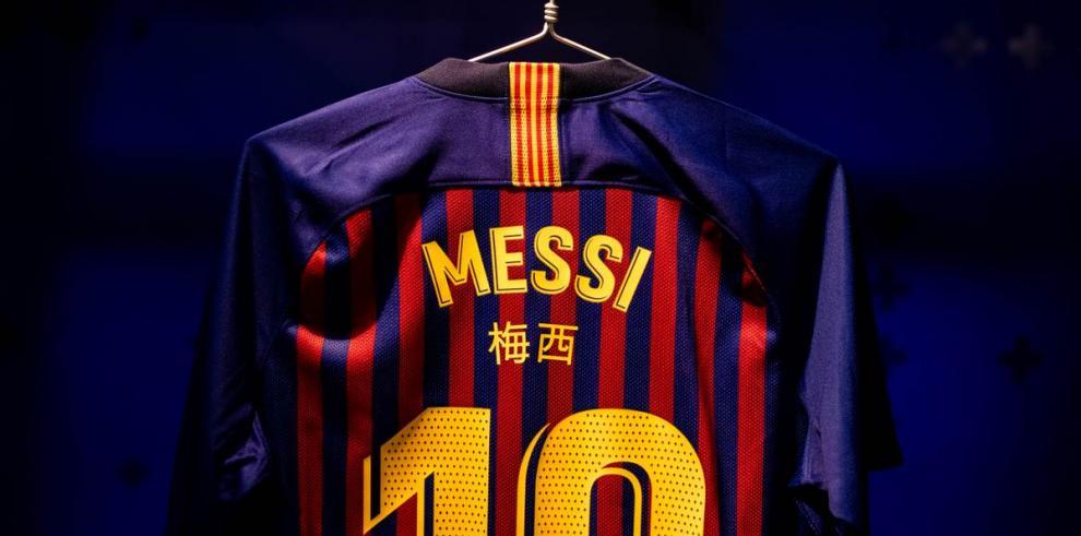 Los jugadores del Barça lucirán su nombre en chino en el Clásico Barcelona