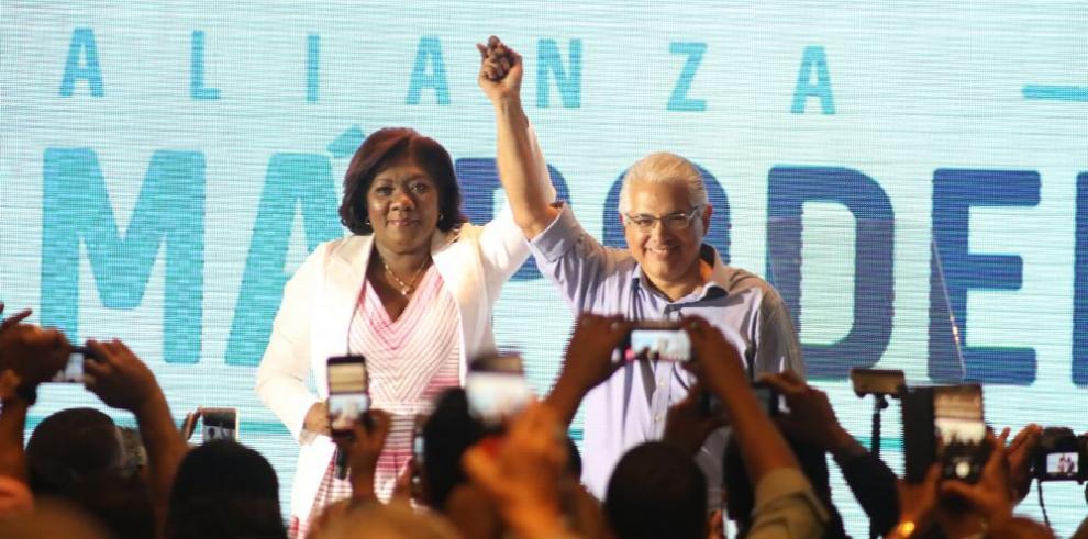 Nilda Quijano, la vice de José Blandón