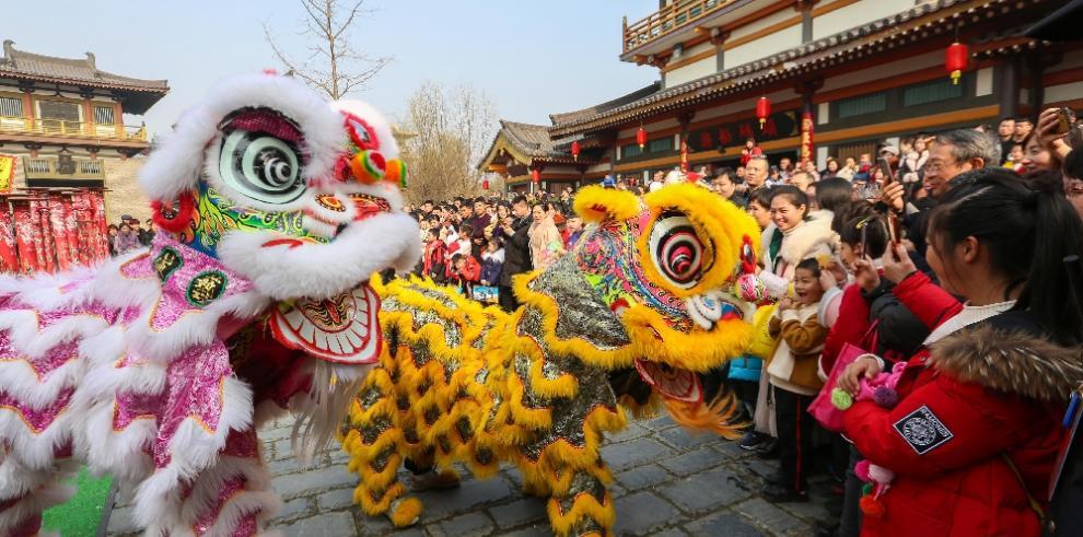 Así recibieron el Año Nuevo Lunar la comunidad china