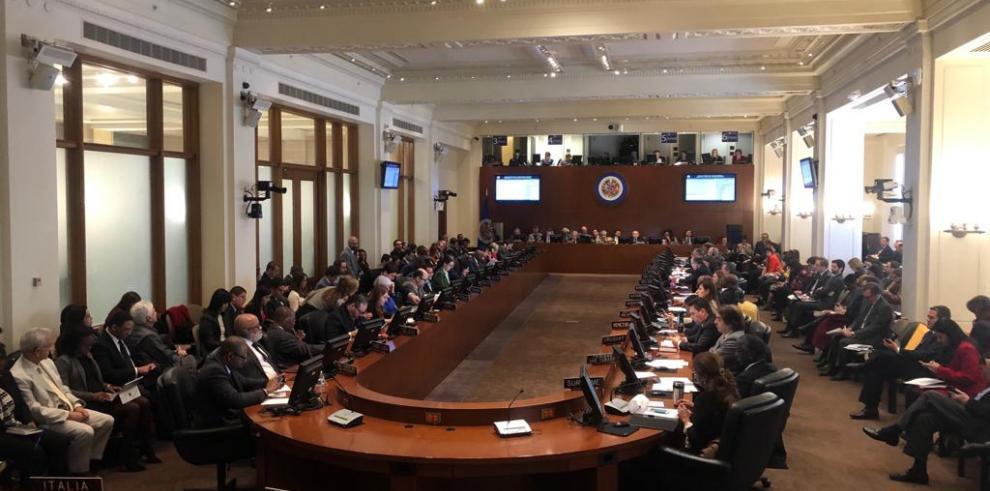La OEA acuerda