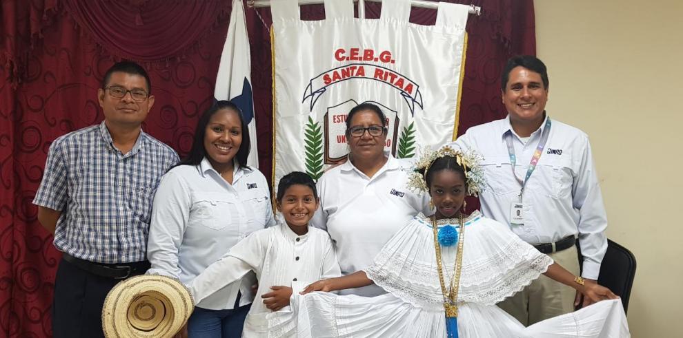 Niños de las Escuelas Río Rita y Santa Rita recibirán apoyo educativo
