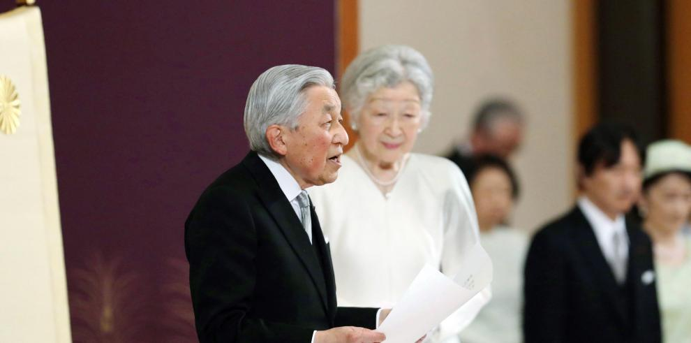Naruhito promete seguir el curso de Akihito como emperador de Japón