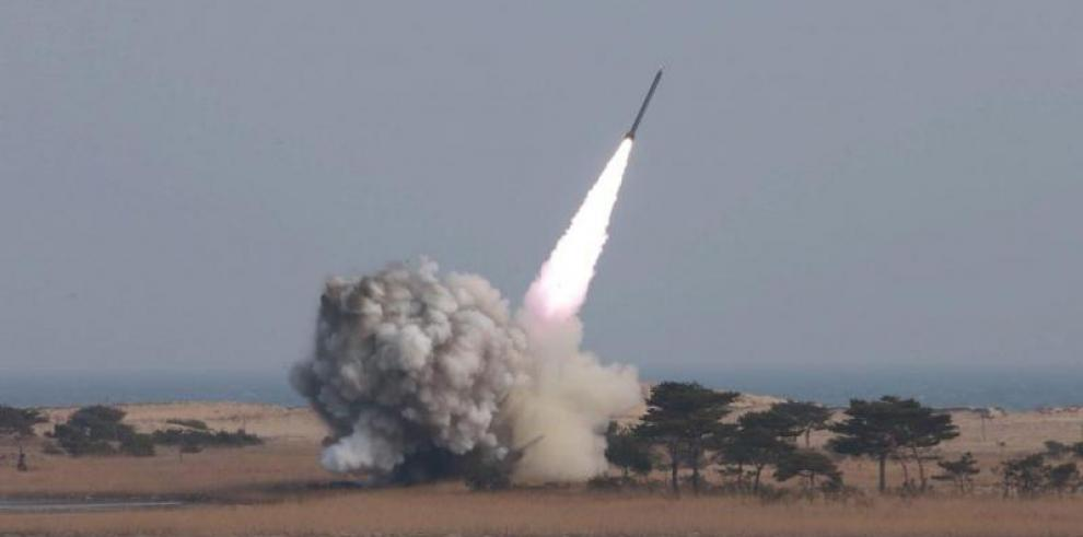 Corea del Norte lanza misiles de corto alcance en nueva prueba balística