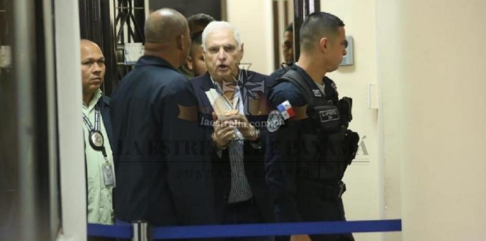 Martinelli descansará del juicio en su contra un día a las semana