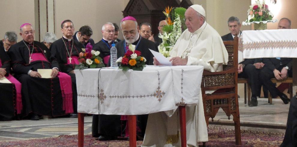 Papa Francisco elogia a Marruecos como modelo de tolerancia religiosa