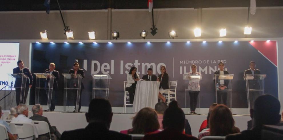 Cortizo el ausente en el debate presidencial organizado por la UDI