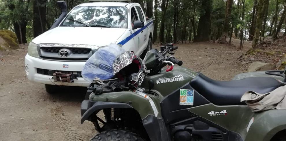 FTC rescata a seis panameños descompensados en elParque Nacional Volcán Barú