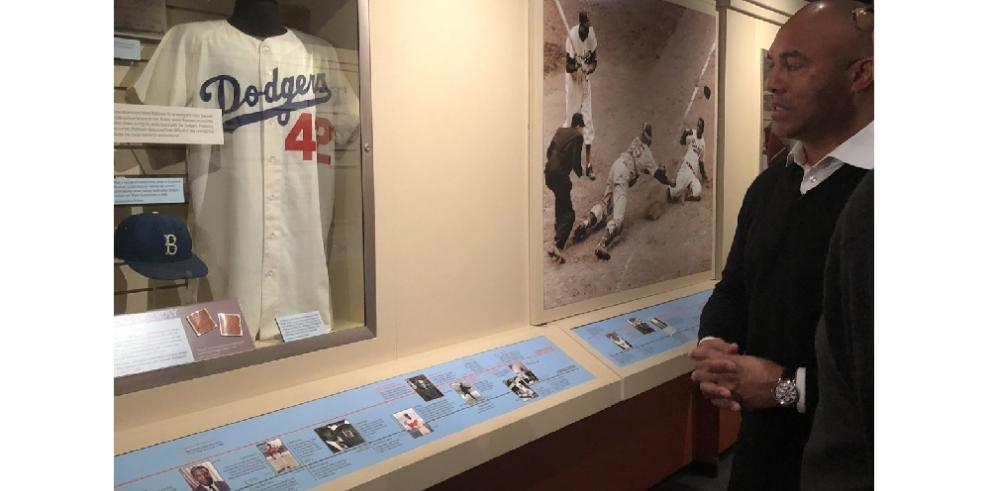 Mariano Rivera recorrió su futura casa, el Salón de la Fama enCooperstown