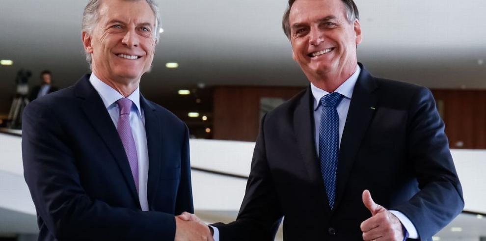 Macri y Bolsonaro se citan para condenar régimen de Maduro