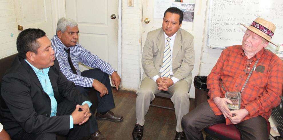 Representantes electos de las comarcas Gunas realizan sus primeras reuniones
