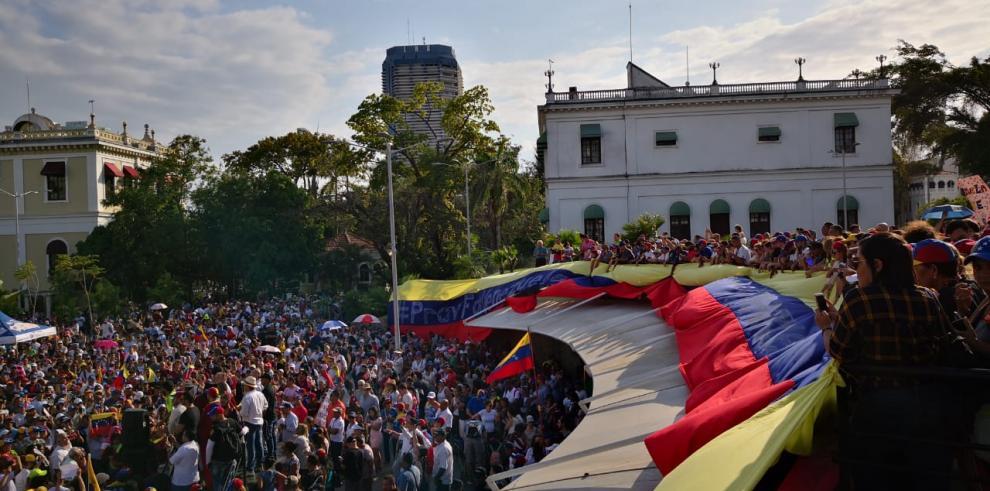 Venezolanos en Panamá agradecen postura de la comunidad internacional