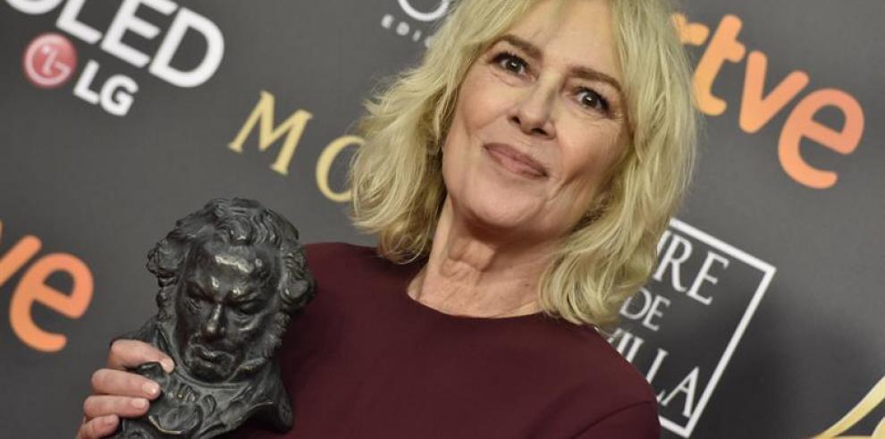 Susi Sánchez consigue el Goya a mejor actriz por