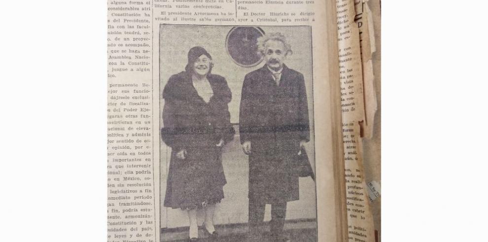 El día que el sabio alemán Albert Einstein visitó Panamá
