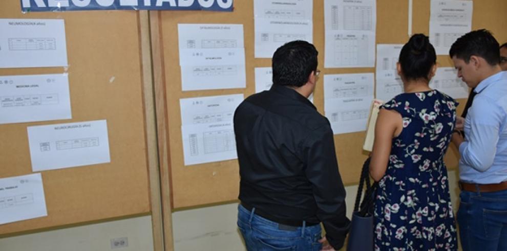La CSS ofertó 135 plazas para especialidades