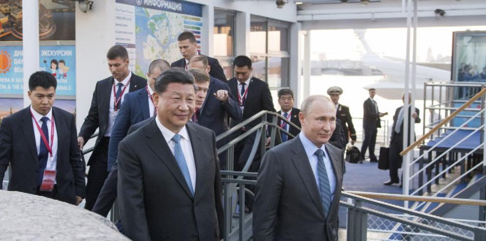 China y Rusia prometen fomentar cooperación en energía