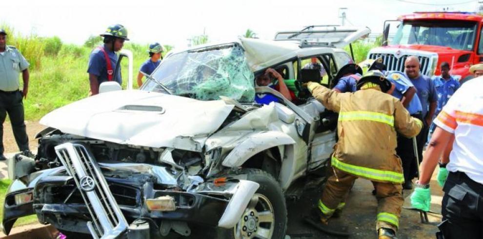 Panamá cerró 2018 con 16 % menos víctimas por accidentes de tránsito