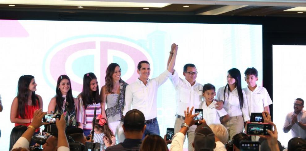 CD y FAD definen a sus candidatos a la vicepresidencia