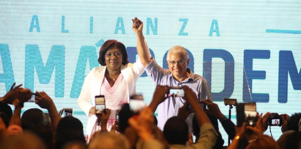 Nilda Quijano acompañará a Blandón en la vicepresidencia