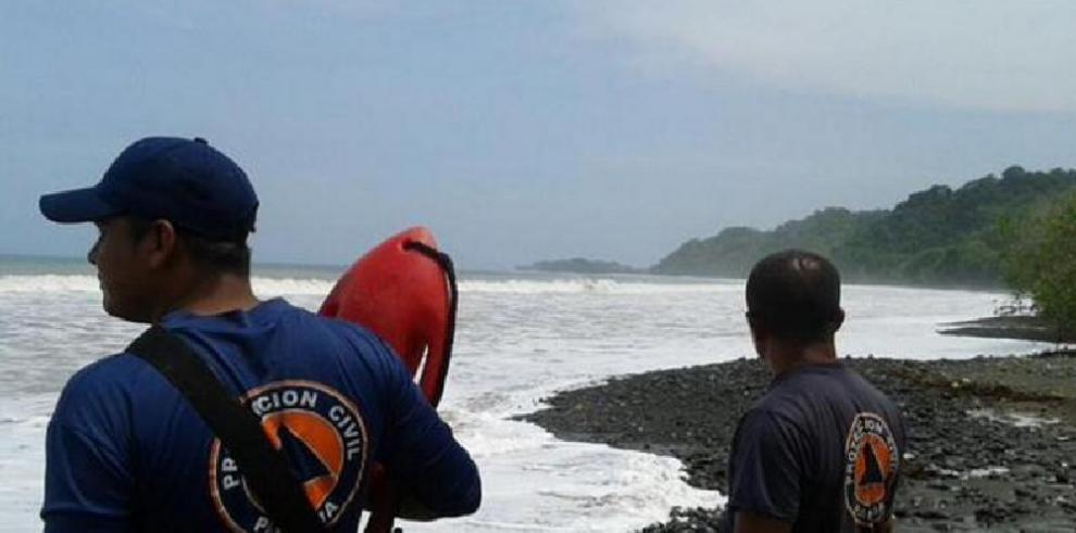 Sinaproc alerta sobre mar de fondo en las costas del pacífico panameño