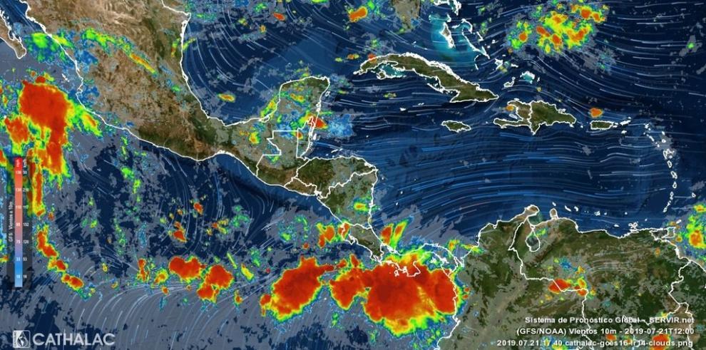 Sinaproc emite aviso sobre fuerte oleaje y lluvias en región del Caribe