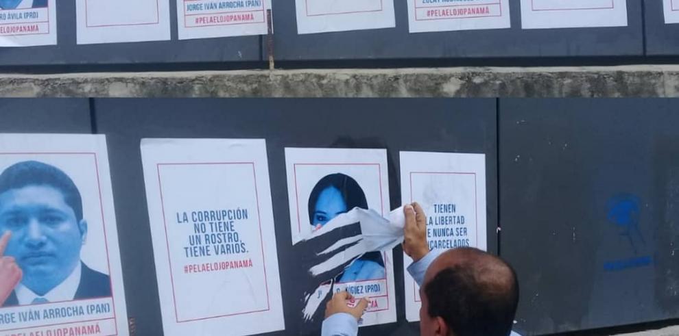 TE remueve valla de Movin por violar la veda electoral