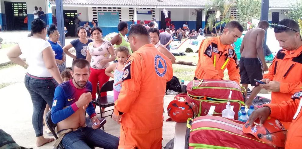 Autoridades trasladan a migrantes irregulares a Chiriquí