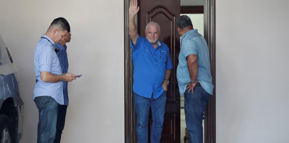 Decretan arresto domiciliario a Martinelli