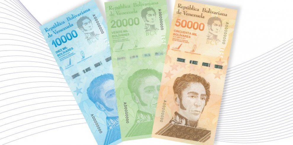 Venezuela tendrá 3 nuevos billetes en su cono monetario