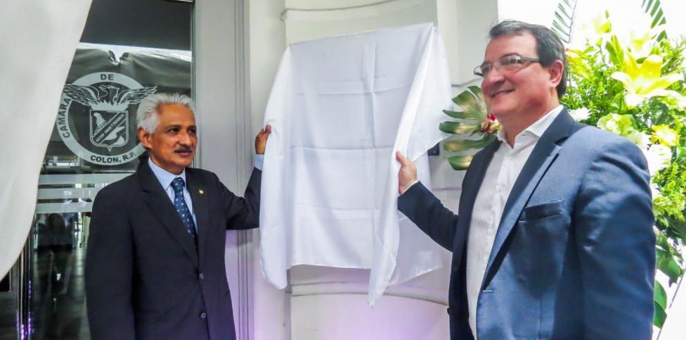 Cámara de Comercio de Colón inaugura nueva sede
