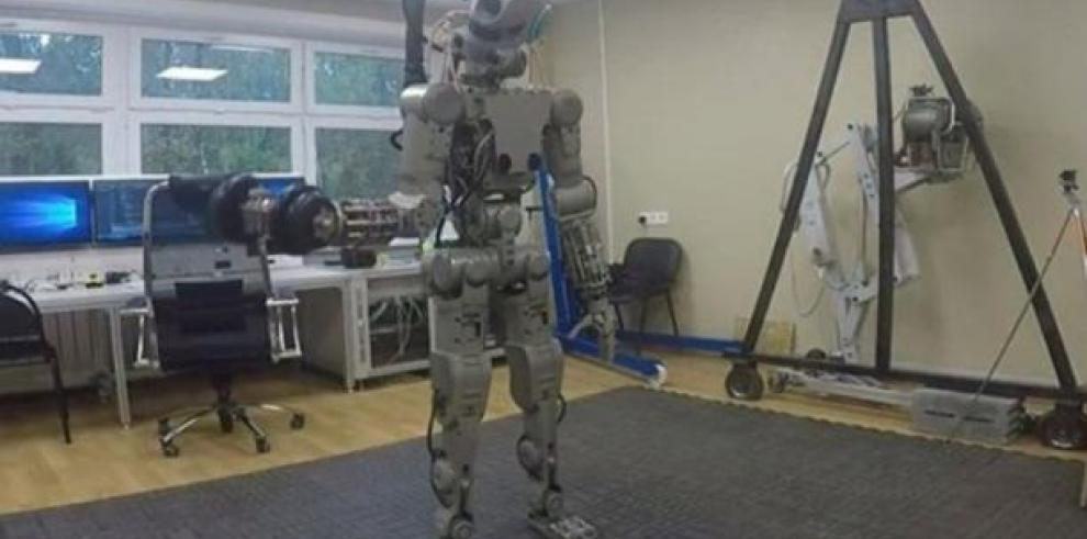 Rusia enviará un robot humanoide a la Estación Espacial Internacional