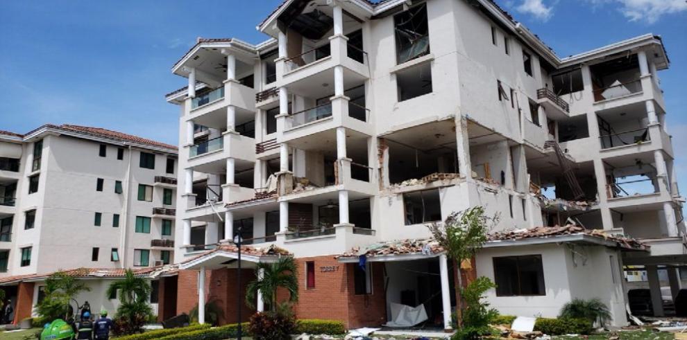 Muere bebé herido en explosión en el P.H. Costa Mare