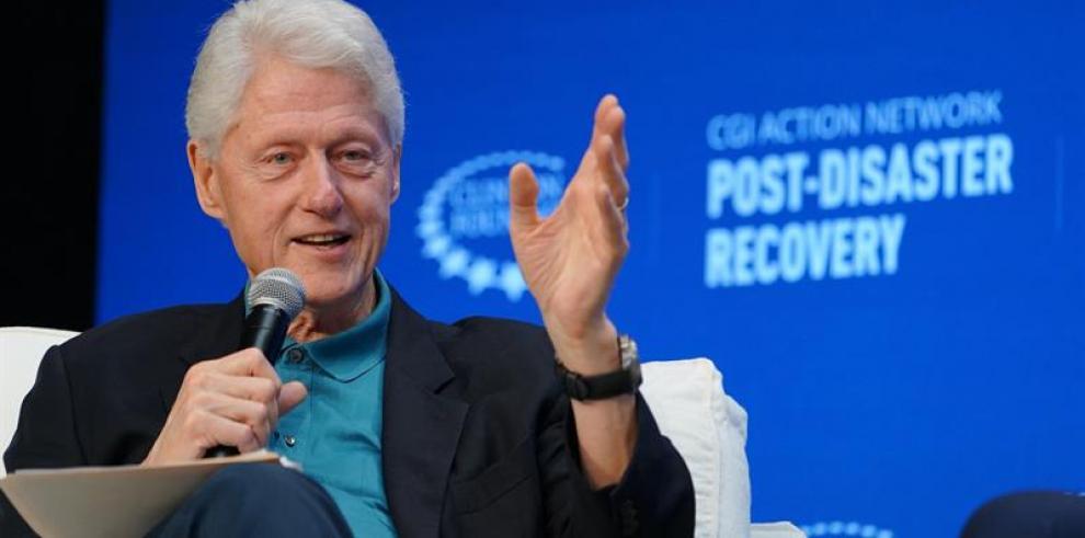 Clinton dice que el cambio climático fuerza a repensar sobre los desastres