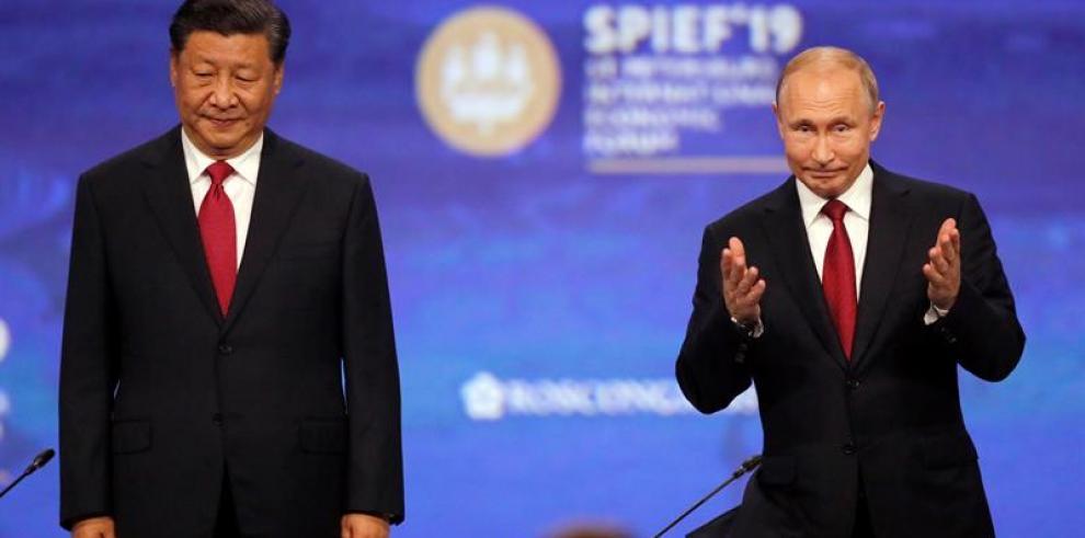 Putin defiende mayor presencia de compañías chinas en el mercado ruso