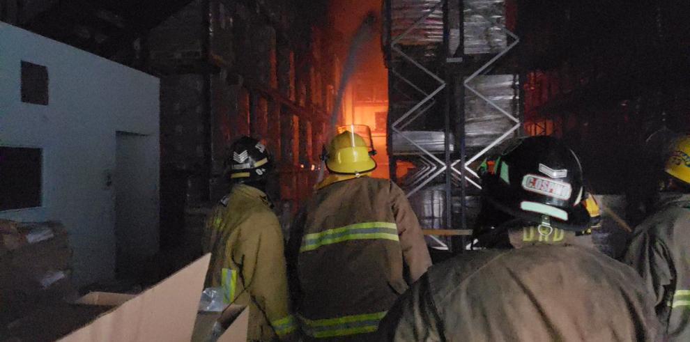 Se registra un incendio de galeras de Tocumen
