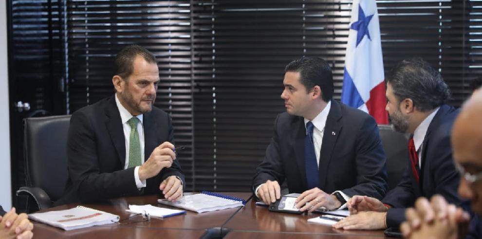 Vicepresidente electo se reúne con el contralor Humbert